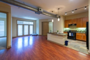 Two Bedroom Apartments in Houston, Texas - Apartment Kitchen & Living Room